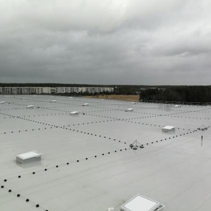 Drošības līdzekļi darbam uz jumta